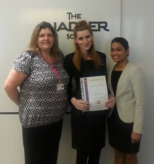 National Apprentice of the Month October - training advisor