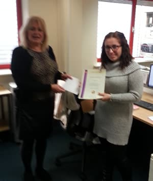 National Apprentice of the Month - training advisor