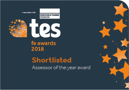 Shortlisted for the Assessor of the year