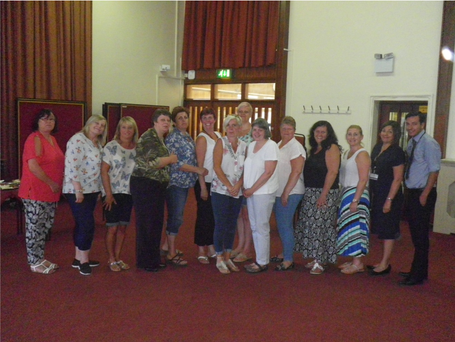 Dudley Catering learners who were able to make the event – 10/07/18