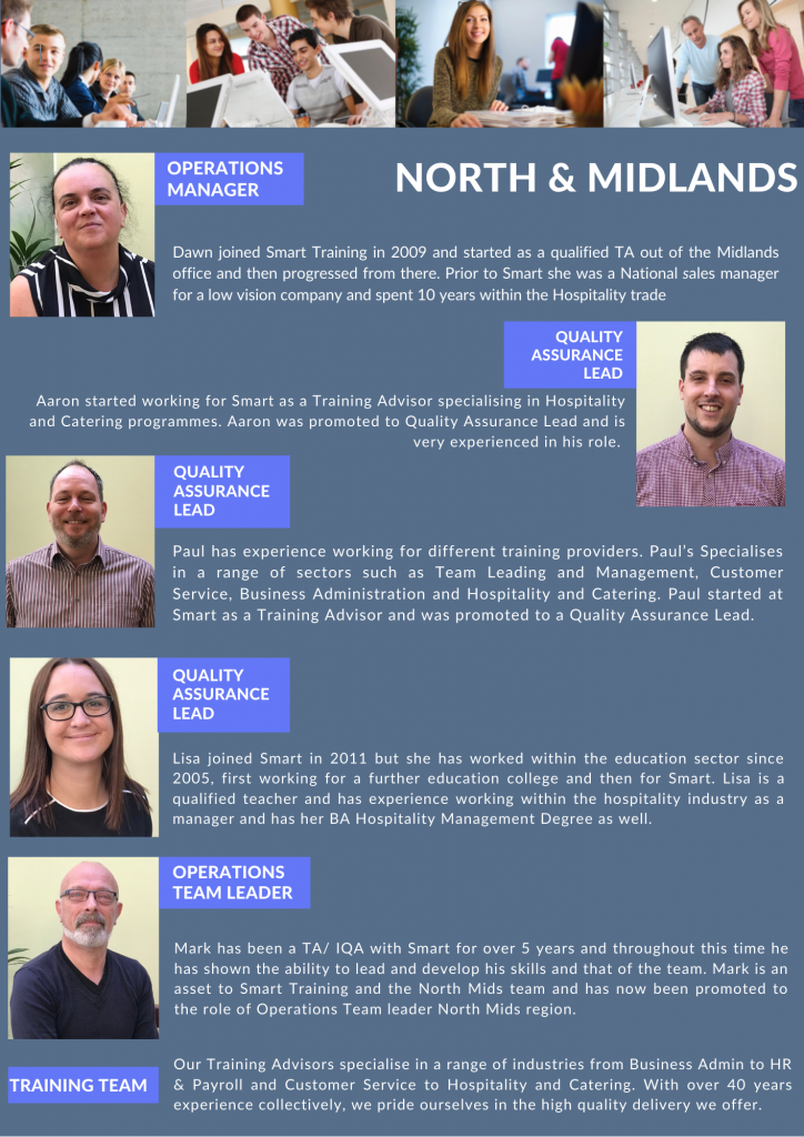 North and Midlands Staff