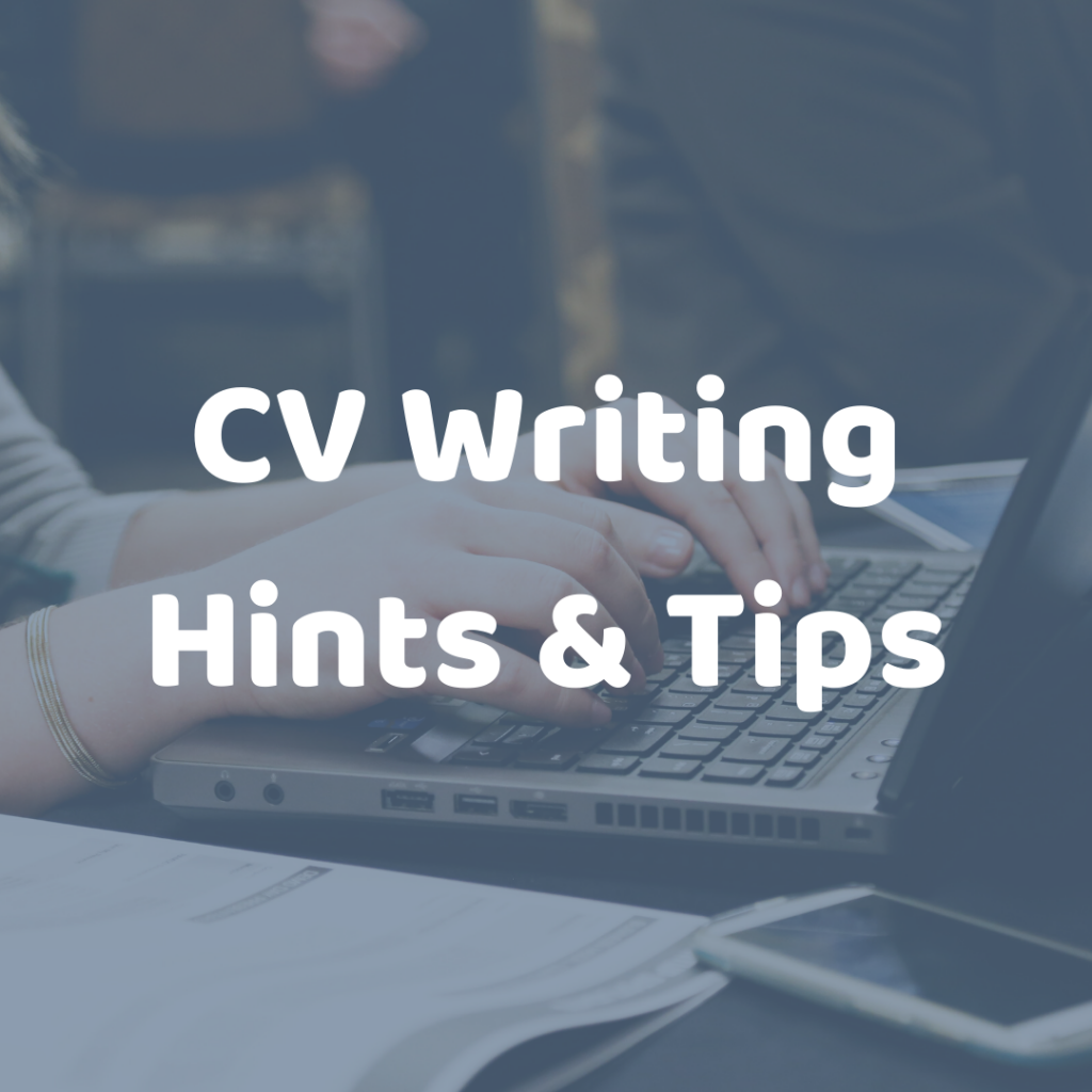 CV Writing Tips