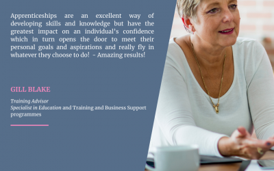 We Love Apprenticeships because..